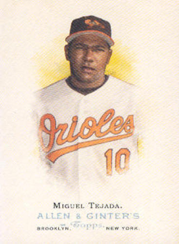 Photo of 2006 Topps Allen and Ginter #12 Miguel Tejada