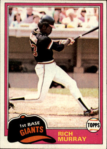 Photo of 1981 Topps #195 Rich Murray RC
