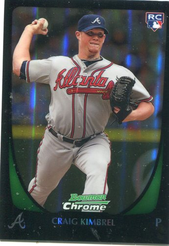 Photo of 2011 Bowman Chrome Draft Refractors #50 Craig Kimbrel