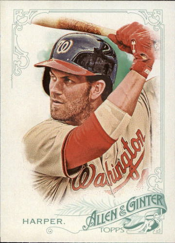 Photo of 2015 Topps Allen and Ginter #249 Bryce Harper -- Nationals post-season