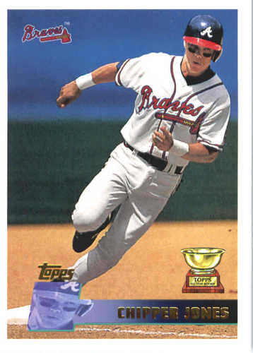 Photo of 2017 Topps Update All Rookie Cup #ARC1 Chipper Jones -- REPRINT