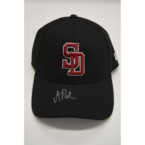 Photo of A.J. Puk #30 - Signed & Game-Used Marjory Stoneman Douglas High School Hat - CHARITY AUCTION