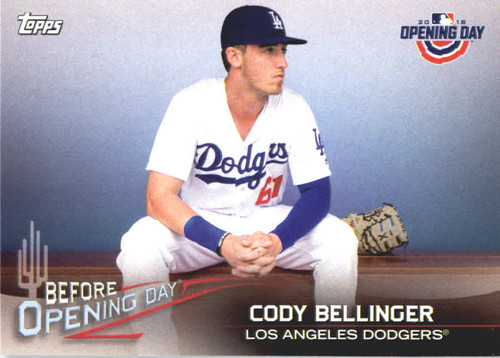 Photo of 2018 Topps Opening Day Before Opening Day #BODCB Cody Bellinger