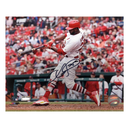 Photo of Cardinals Authentics: Dexter Fowler Autographed 8 x 10 Photo