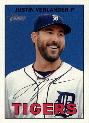 Photo of 2016 Topps Heritage #420 Justin Verlander