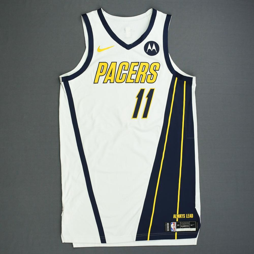6305d38ae Domantas Sabonis - Indiana Pacers - Game-Worn Earned Edition Jersey - 2019  Playoffs