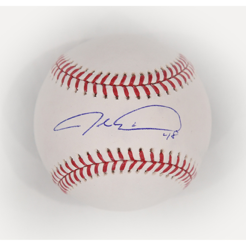 Photo of Amazin' Auction: Jacob deGrom signed baseball