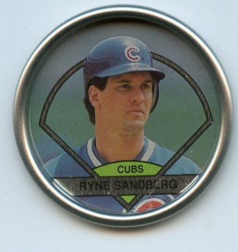 Photo of 1990 Topps Coins #56 Ryne Sandberg