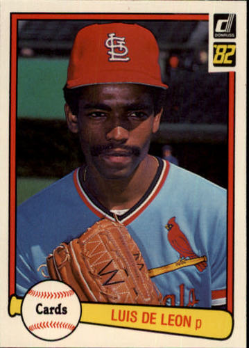 Photo of 1982 Donruss #588 Luis DeLeon