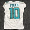 STS - Dolphins Kenny Stills game worn Dolphins jersey w/ Captains Patch (November 19 2017)