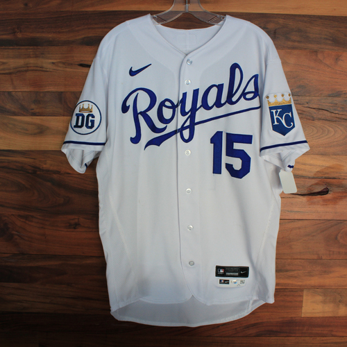 Photo of Game-Used 2020 Jersey: Whit Merrifield #15 (DET @ KC 9/27/20) - Size 44