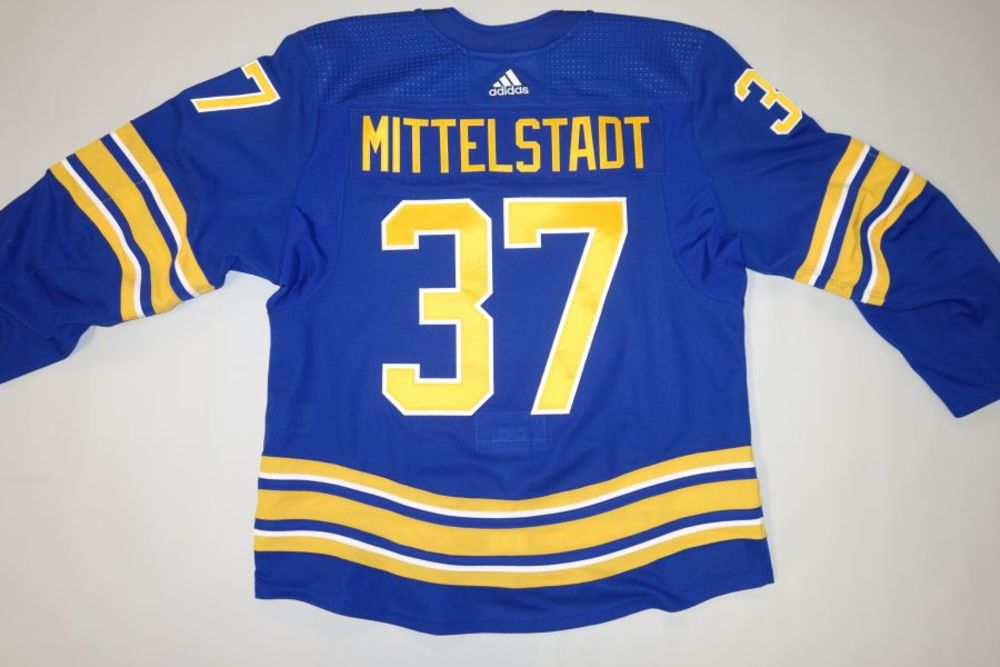 Casey Mittelstadt 2020-21 Buffalo Sabres Set 1 Home Jersey