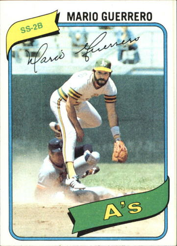 Photo of 1980 Topps #49 Mario Guerrero