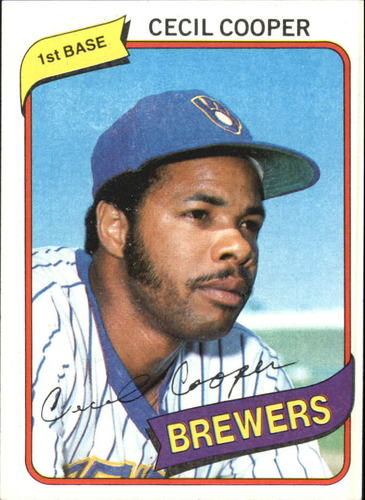 Photo of 1980 Topps #95 Cecil Cooper