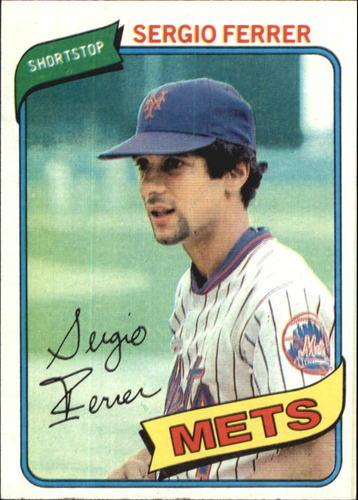 Photo of 1980 Topps #619 Sergio Ferrer