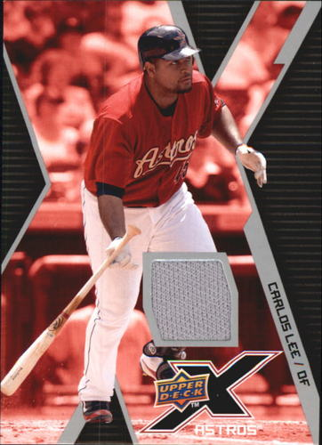 Photo of 2009 Upper Deck X Memorabilia #CL Carlos Lee