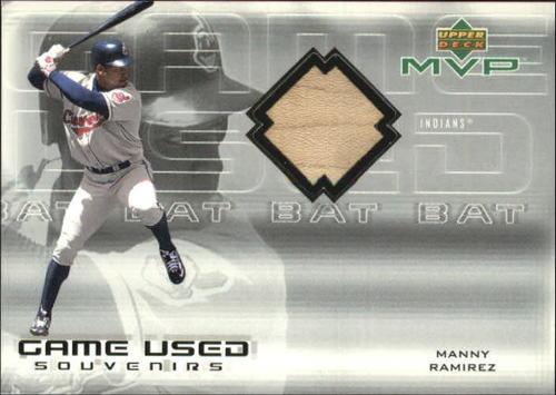 Photo of 2000 Upper Deck MVP Game Used Souvenirs #MRB Manny Ramirez Bat