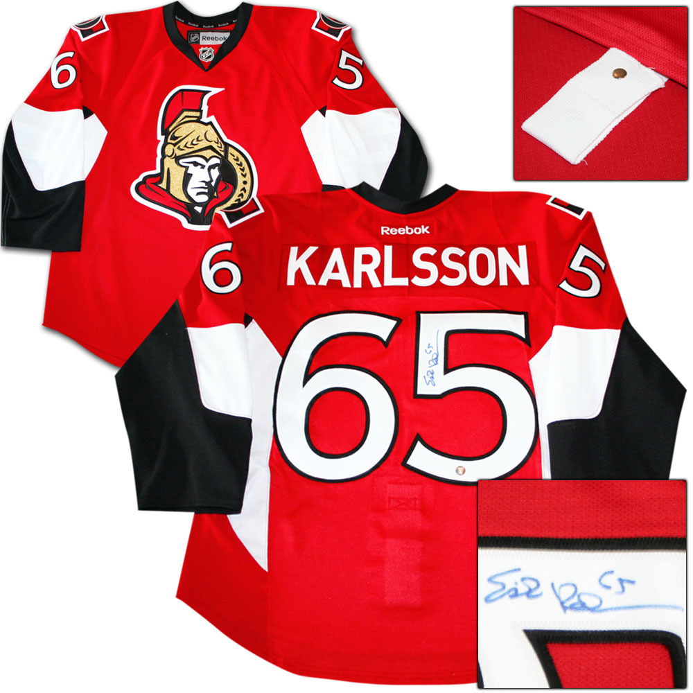size 40 5f289 46d95 Erik Karlsson Autographed Ottawa Senators Authentic Pro ...