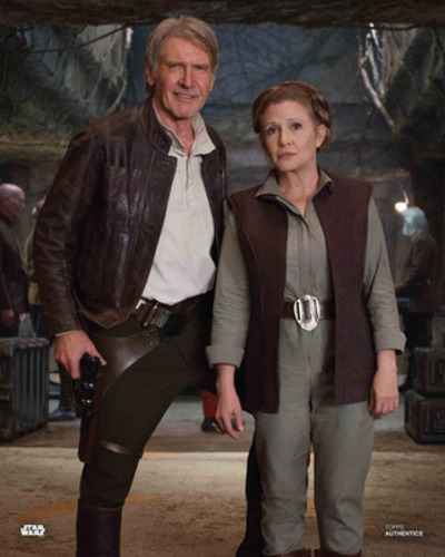 Han Solo and General Leia Organa