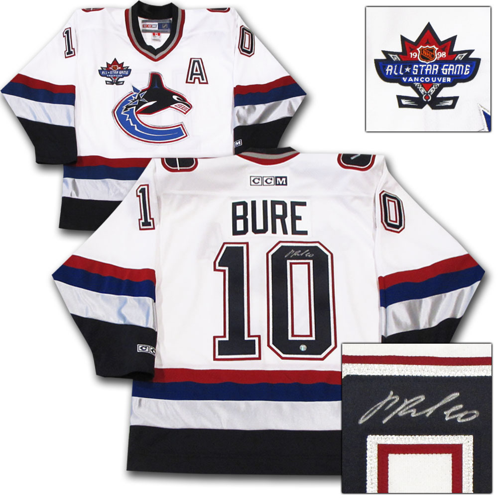 Pavel Bure Autographed Vancouver Canucks Jersey W 1998 NHL All Star Game  Patch cf53e7b1c