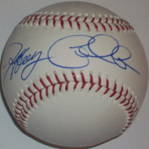 Photo of Jeffrey Cirillo Autographed Baseball