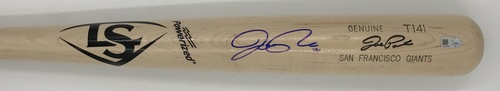 Photo of Joe Panik Autographed Game Model Louisville Slugger Bat