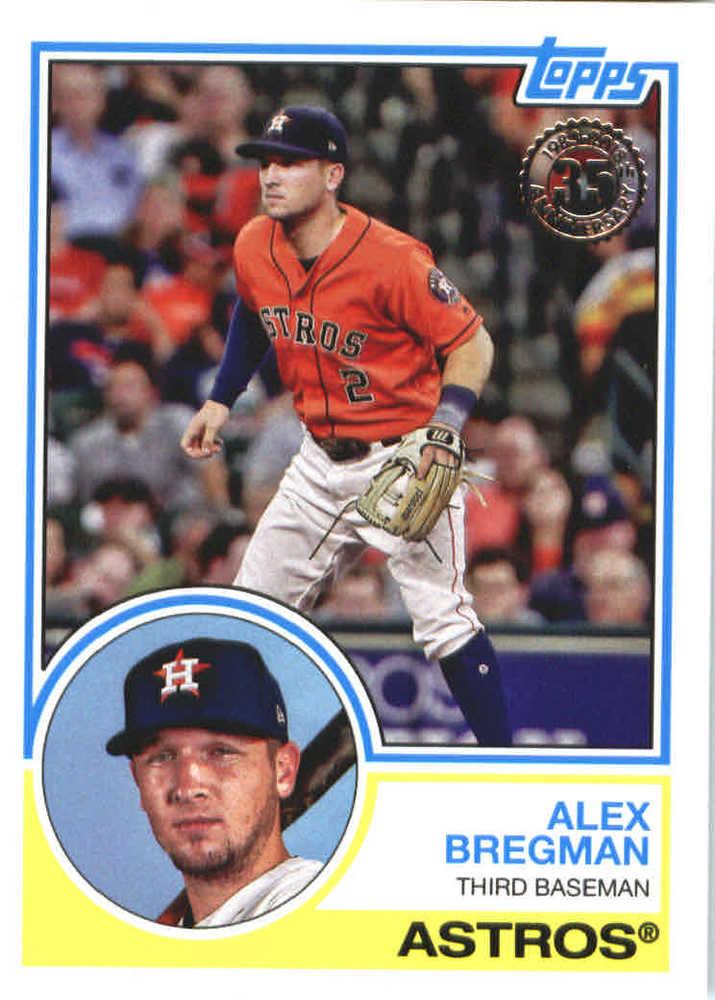 2018 Topps '83 Topps #8396 Alex Bregman