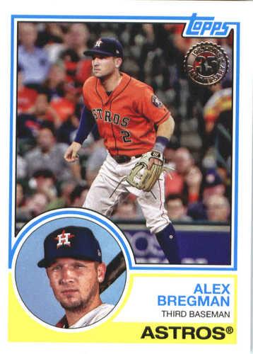 Photo of 2018 Topps '83 Topps #8396 Alex Bregman