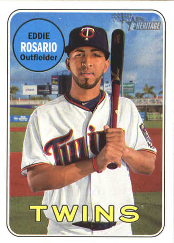 Photo of 2018 Topps Heritage #262 Eddie Rosario
