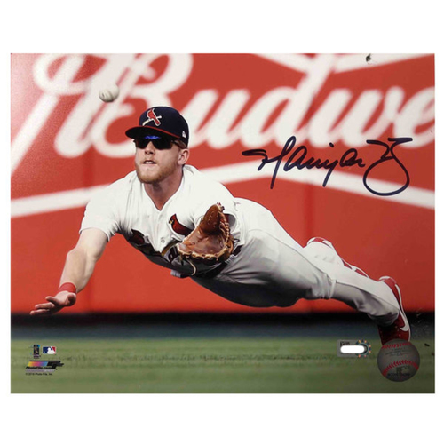 Photo of Cardinals Authentics: Harrison Bader Autographed 8 x 10 Photo