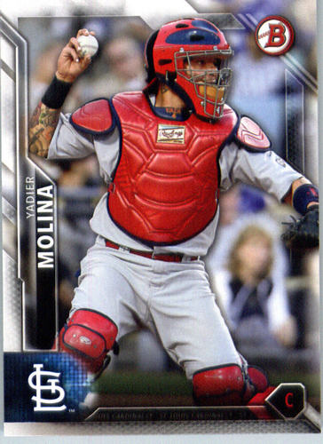 Photo of 2016 Bowman #83 Yadier Molina