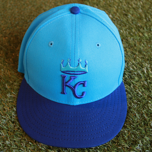 Photo of Game-Used Player's Weekend Cap: Alcides Escobar (Size 7 3/8 - CLE @ KC - 8/26/18)