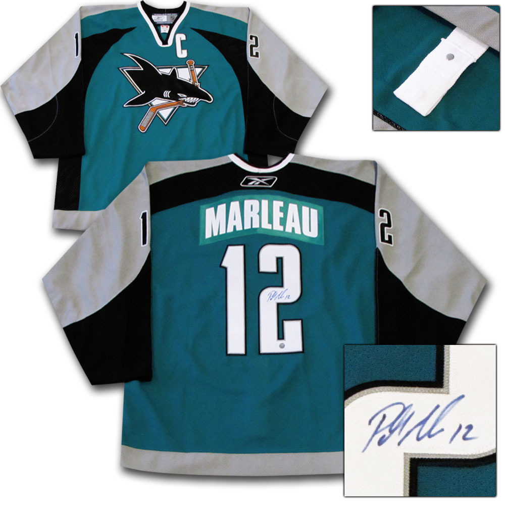 Patrick Marleau Autographed San Jose Sharks Authentic Pro Jersey