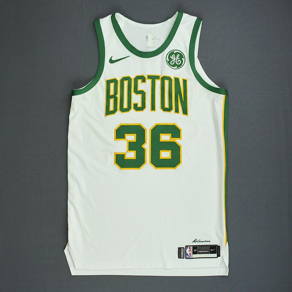 cheap for discount 22c2e d0f81 Marcus Smart - Boston Celtics - Game-Worn City Edition ...