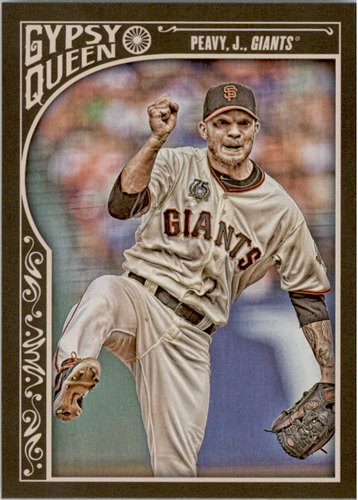 Photo of 2015 Topps Gypsy Queen #218 Jake Peavy