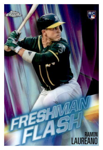 Photo of 2019 Topps Chrome Freshman Flash #FF9 Ramon Laureano