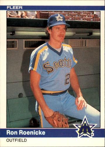 Photo of 1984 Fleer #618 Ron Roenicke