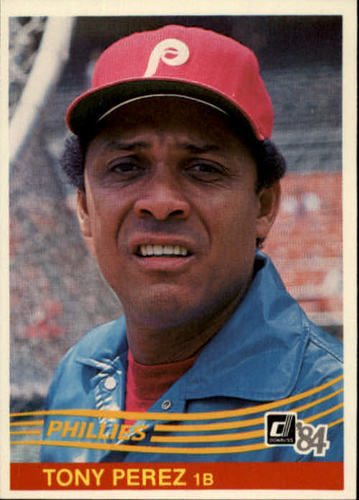 Photo of 1984 Donruss #503 Tony Perez