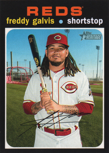 Photo of 2020 Topps Heritage #301 Freddy Galvis