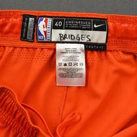Miles Bridges - 2020 NBA Rising Stars - Team USA - Game-Worn 1st Half Shorts