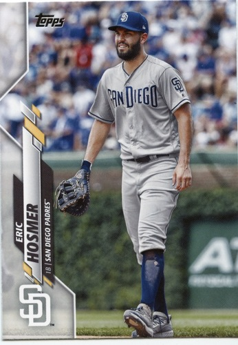Photo of 2020 Topps #627 Eric Hosmer
