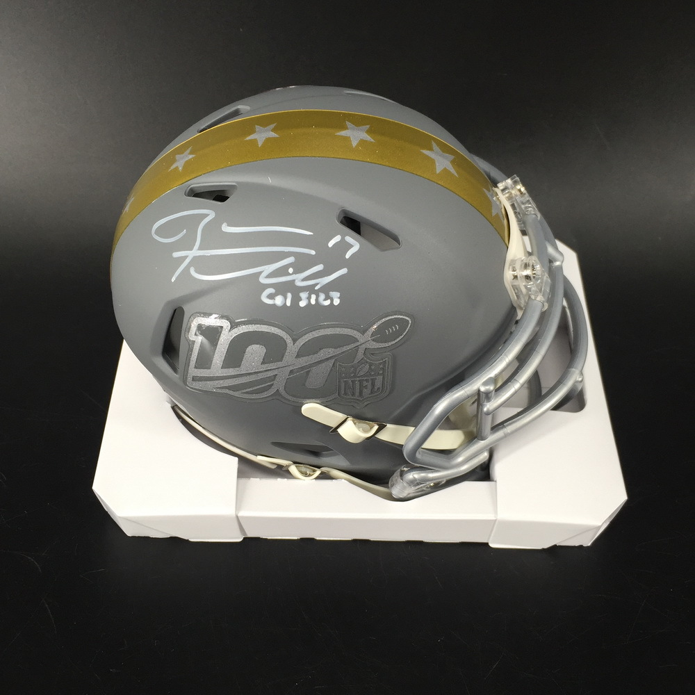 NFL - Titans Ryan Tannehill Signed Pro Bowl 2020 Mini Helmet