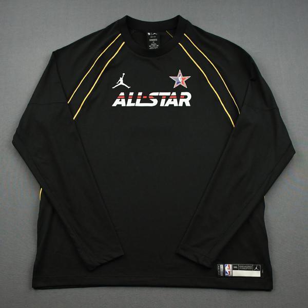 Image of Nikola Jokic - Game-Worn 2021 NBA All-Star Long-Sleeved Shooting Shirt
