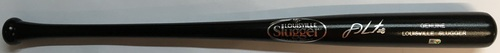 Photo of J.D. Martinez Autographed Black Louisville Slugger Bat