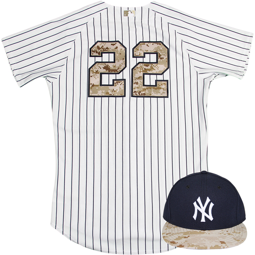 new arrival 745e2 0e043 MLB Auctions | Jacoby Ellsbury Uniform - NY Yankees 2015 ...