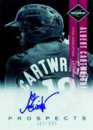 Photo of 2011 Limited Prospects Signatures #19 Albert Cartwright/899