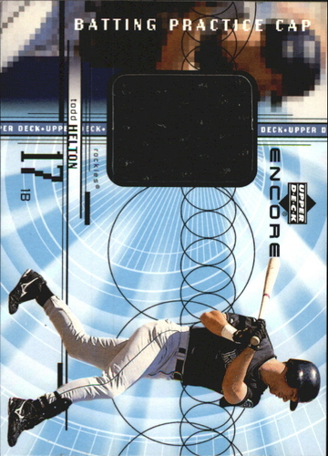 Photo of 1999 Upper Deck Encore Batting Practice Caps #CTH Todd Helton