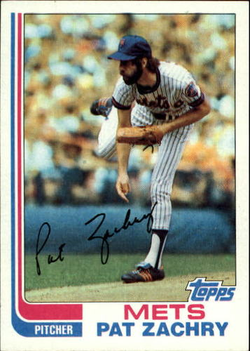 Photo of 1982 Topps #399 Pat Zachry