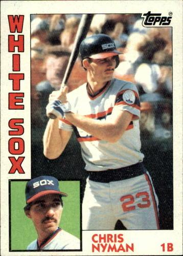 Photo of 1984 Topps #382 Chris Nyman