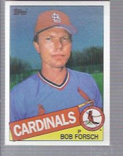 Photo of 1985 Topps #631 Bob Forsch
